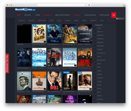 Grifus WordPress movie theme - watchmovies.one