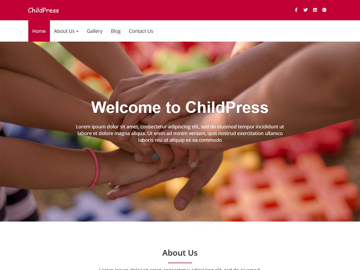 WordPress theme childpress