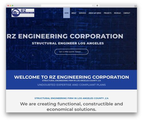 WordPress website template Jupiter - rzengineeringcorp.com