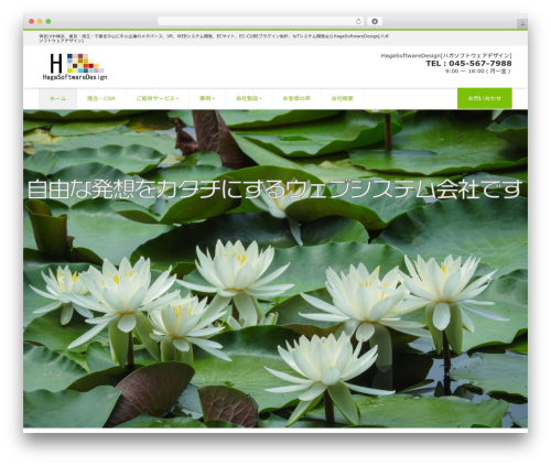 WordPress website template LIQUID CORPORATE - hagasd.com