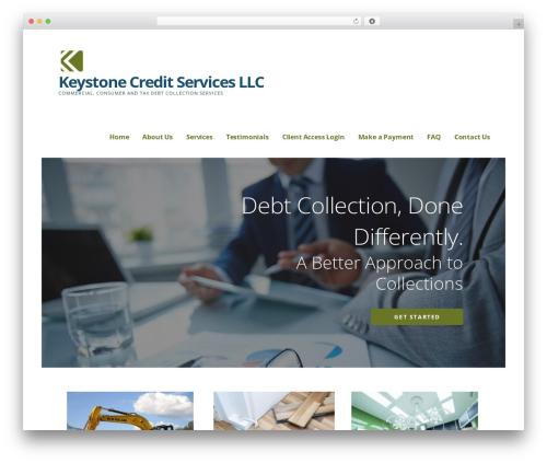 Ascension WordPress template - keystonecredit.net
