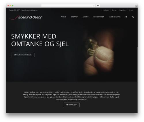 Avada best WordPress theme - soderlunddesign.no
