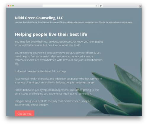 Primer template WordPress free - nikkigreencounseling.com