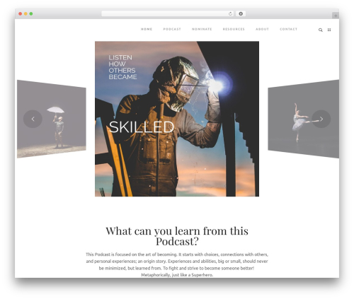 Rayko theme WordPress - thesuperheronextdoor.com