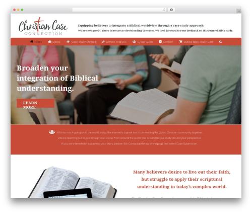 Template WordPress Avada - christiancaseconnection.com
