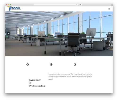 Theme WordPress Protheme - titansconstruction.com
