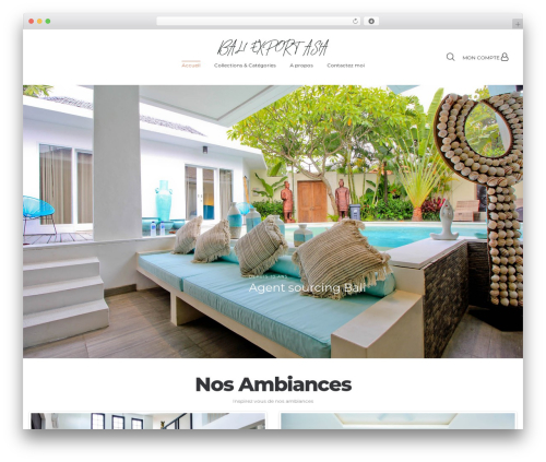 Vayne theme WordPress - bali-export-asia.com