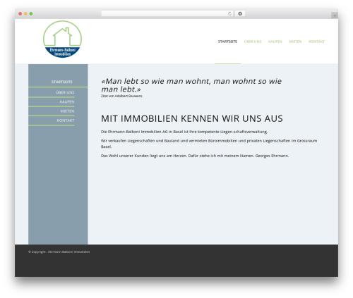 WordPress theme Enfold - ehrmann.ch