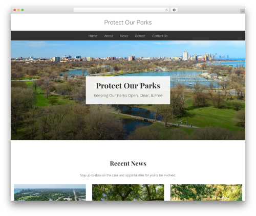 Best WordPress theme Genesis - protectourparks.org