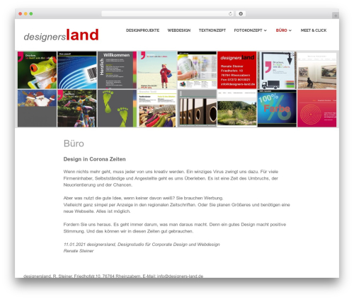 Poseidon WordPress theme - designers-land.de