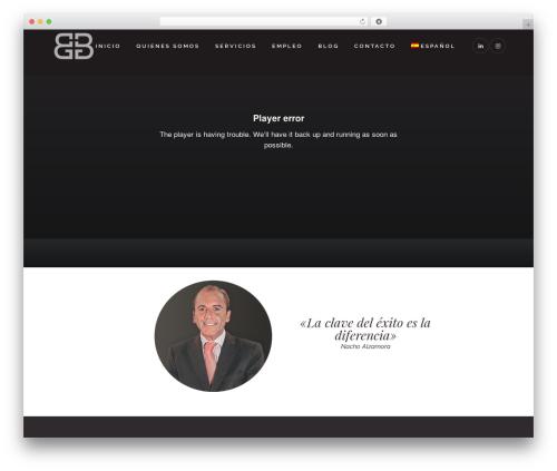 Theme WordPress Bridge - belmontegroup.com