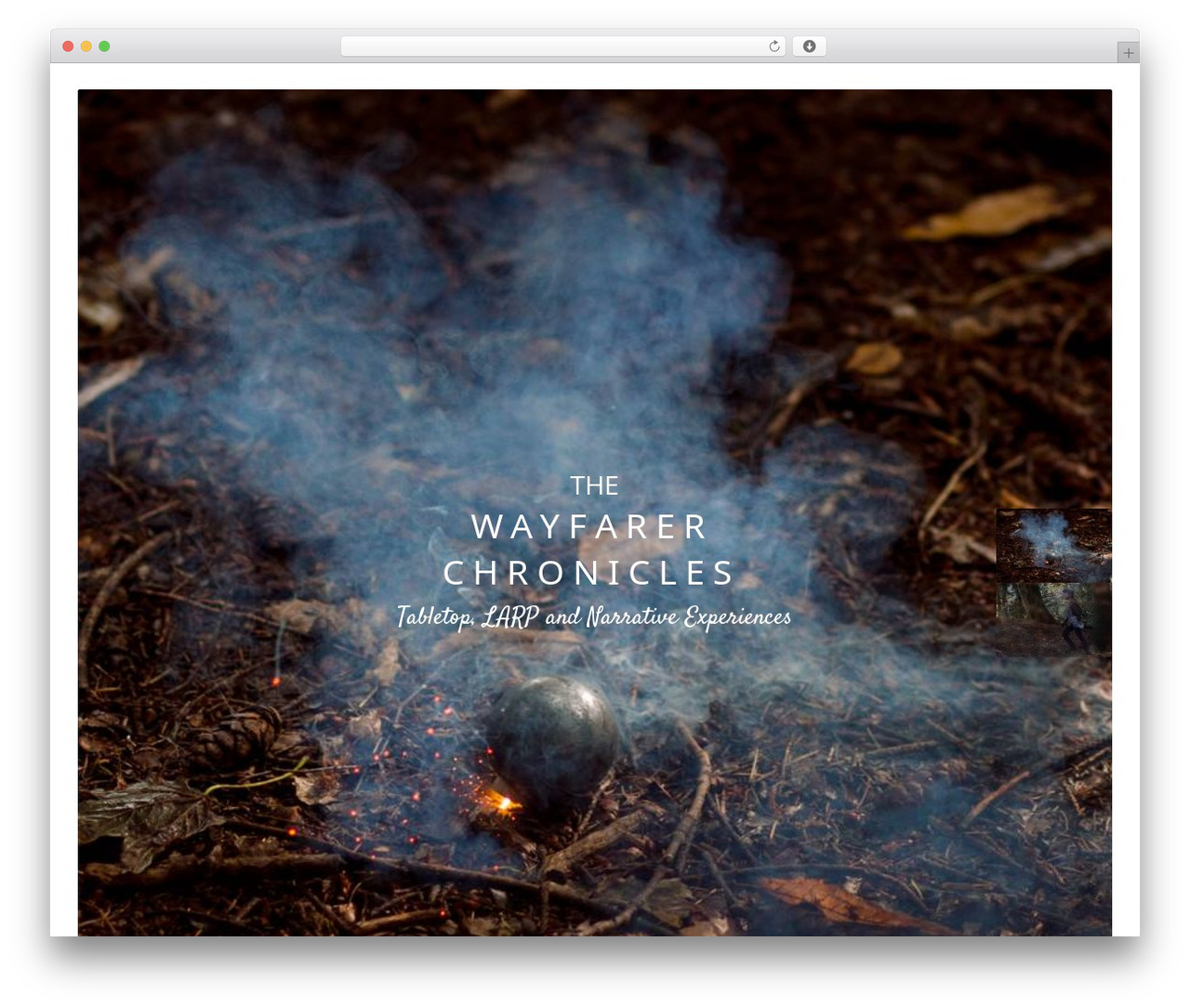 WordPress template Narcos - wearewayfarers.com