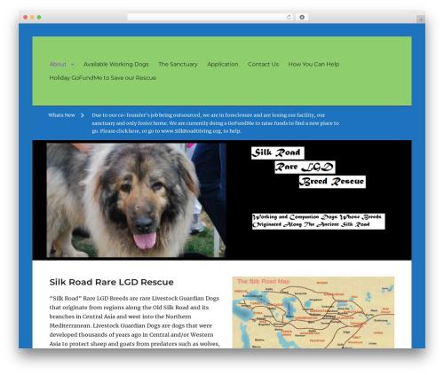 WordPress theme Clean Education Pro - silkroadlgds.org