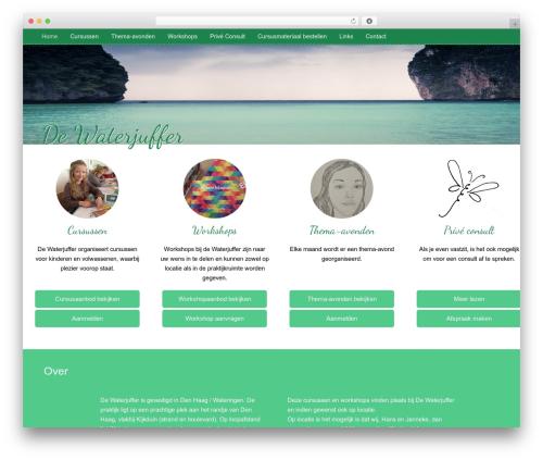 WP theme LeatherDiary - waterjufferweb.nl