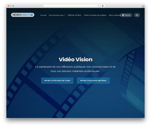 Businessx free website theme - videovision.fr