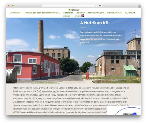 Divi best WordPress template - nutrikon.hu