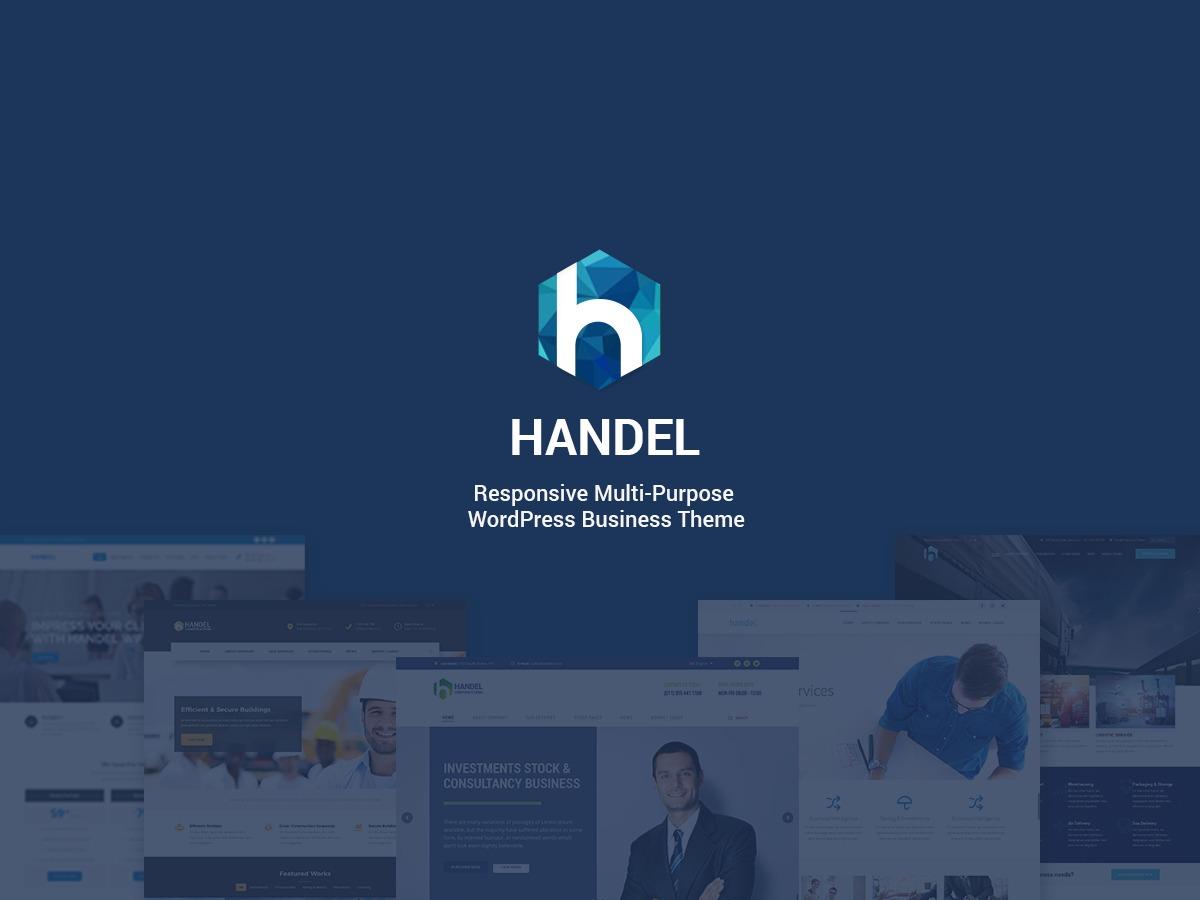 Handel Child Theme theme WordPress