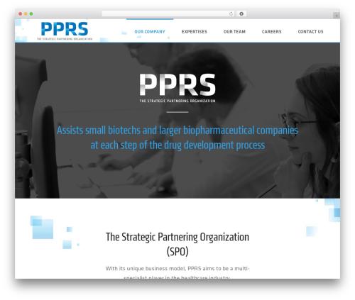 Jupiter WordPress theme - pprs-research.com