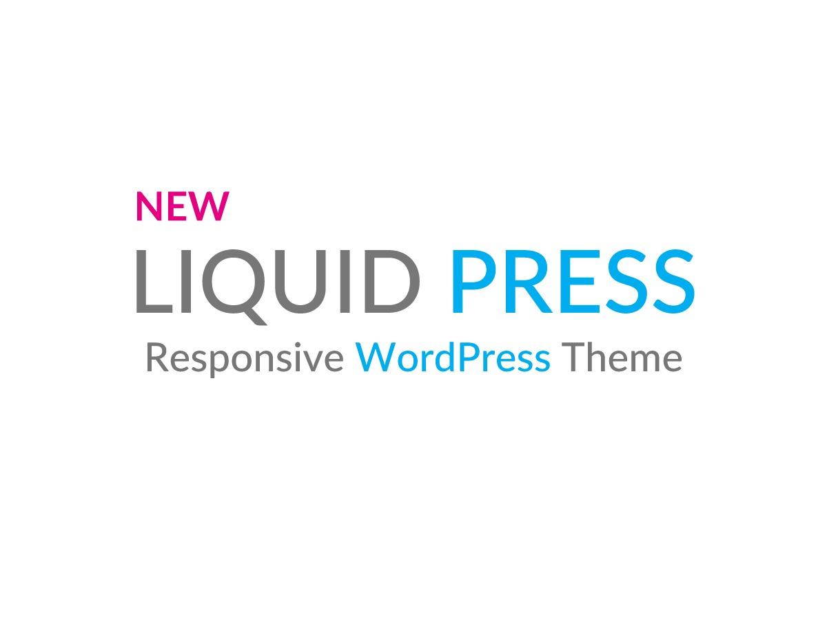 LIQUID LIGHT CUSTOM WordPress theme