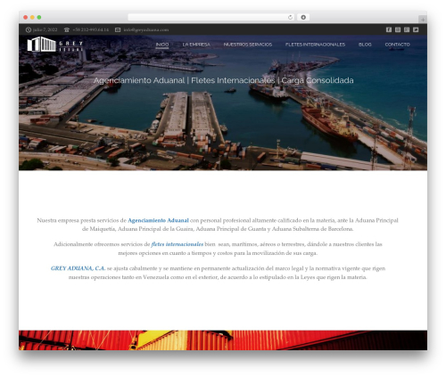 jupiter WordPress theme - greyaduana.com