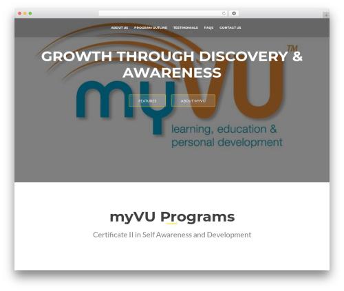 ResponsiveBoat free website theme - myvu.com.au