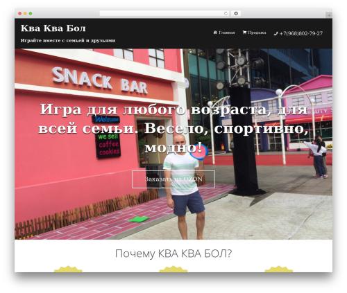 Sydney free website theme - kvakvaball.ru
