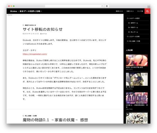 Twenty Fourteen template WordPress - dldou.com