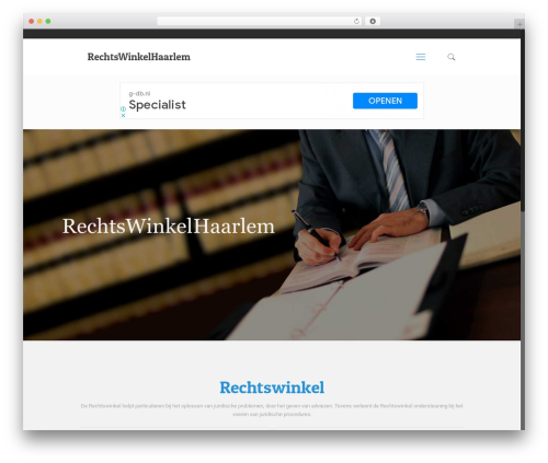 Betheme WordPress theme - rechtswinkelhaarlem.nl
