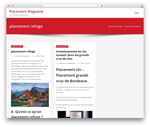 Content WordPress theme download - placement-magazine.com