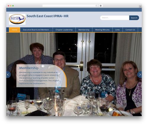 Education Hub best free WordPress theme - secipma-hr.org