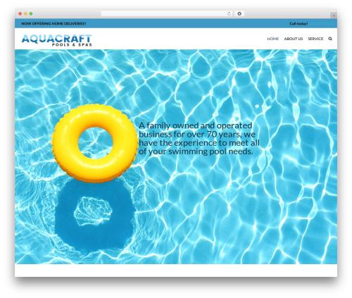 SwimmingPool WP template - aquacraftpools.com