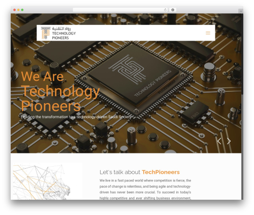 Theme WordPress Betheme - techpioneers.net