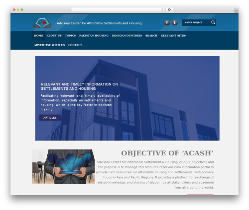 Ultimate (Share on Theme123.Net) WordPress theme - center4affordablehousing.org