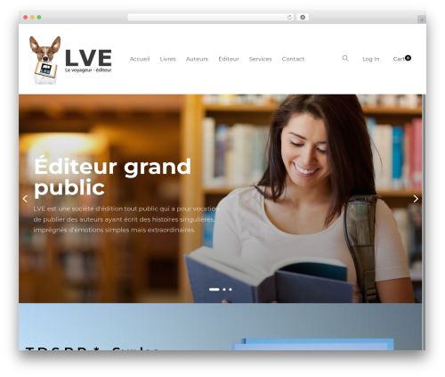 WP template Livre - lveditions.com