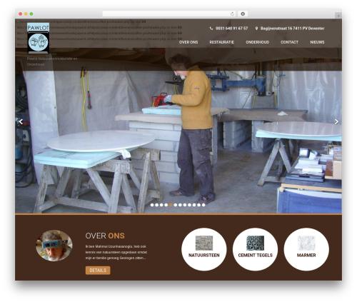 Coffee Pro top WordPress theme - pawlot.nl