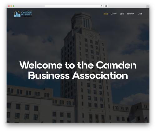 Revolution WordPress theme - camdenbusiness.com