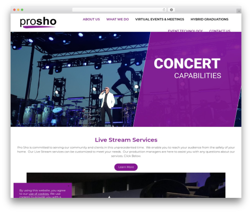 Theme WordPress The7 - prosho.com