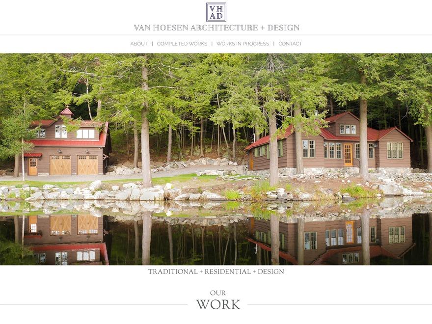 WP theme Van Hoesen Architecture Theme