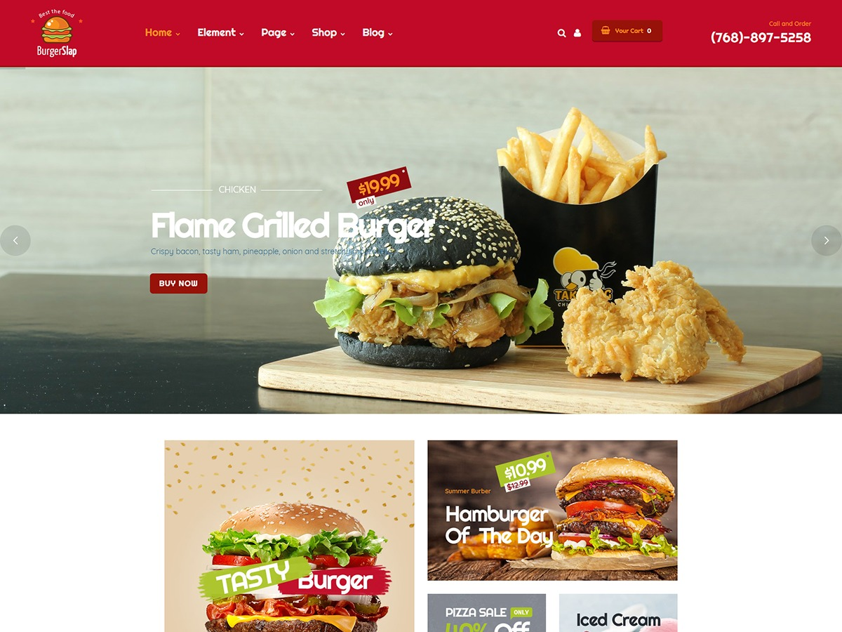 burgerslap best WooCommerce theme