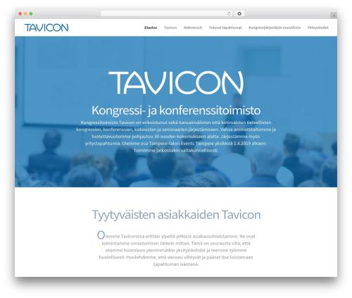 Divi theme WordPress - tavicon.fi