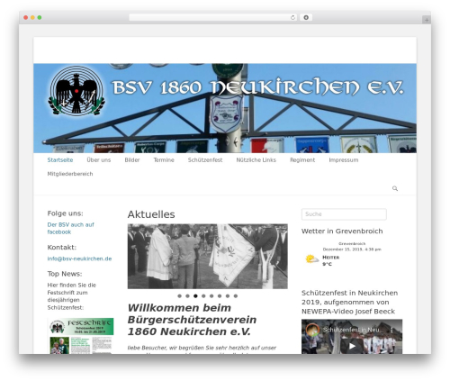 Theme WordPress Catch Base Pro - bsv-neukirchen.de