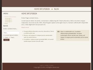 Tochkabita WordPress website template