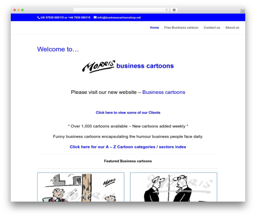 Free WordPress Companion Sitemap Generator plugin - businesscartoons.co.uk