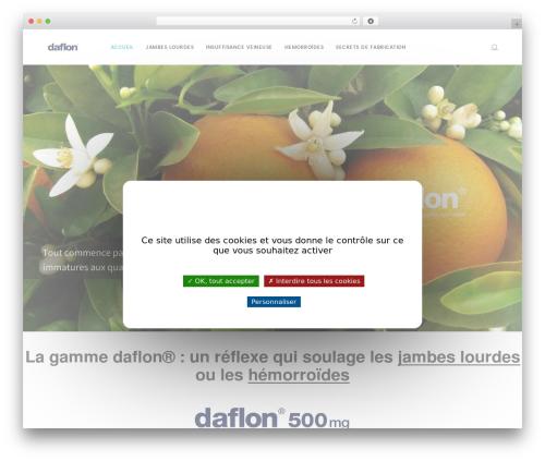 Folie WordPress template - daflon.fr