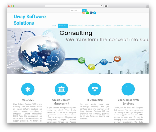 Innovation Lite free website theme - uwaysoftware.com