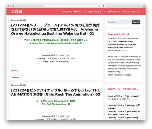 WordPress theme Page Speed - dou.erokuni.net