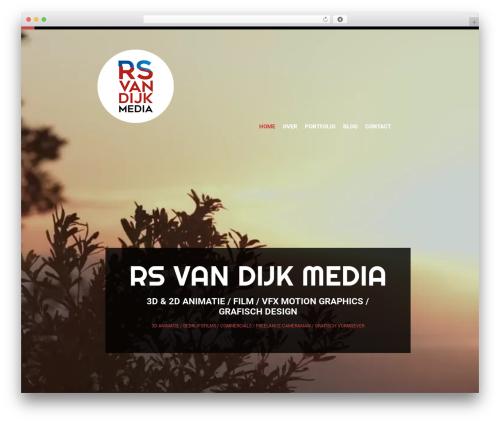 WordPress theme cherry - rsvandijk.nl
