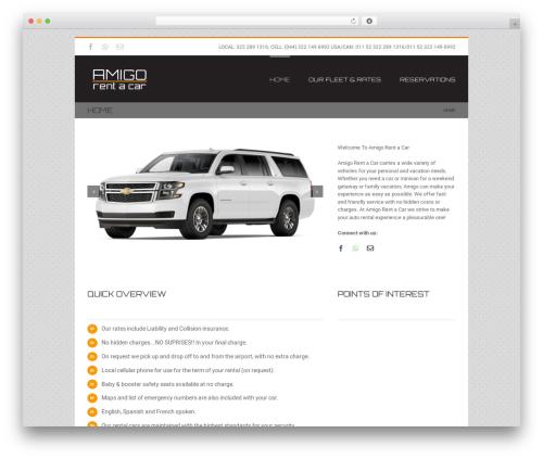 Avada top WordPress theme - amigorentacar.com
