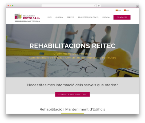 Best WordPress template Avada - rehabilitacionsreitec.com