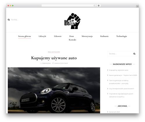 Blossom Fashion fashion WordPress theme - dajeszojciec.pl